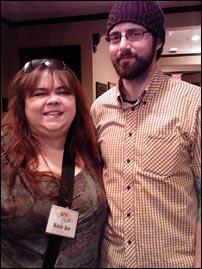 Me and Sean Bonner at IZEAFest 2008