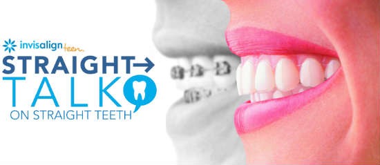 Straight Talk About Straight Teeth With Invisalign Teen