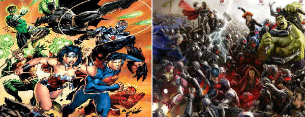 Dc Vs Marvel Movie Schedule Earlier This Week Warner Bros