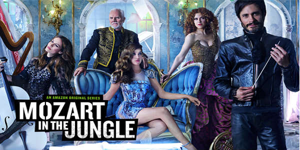 Mozart In the Jungle - image courtesy of Amazon Studios