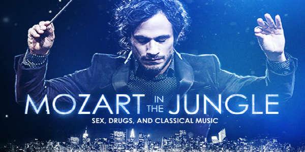 Mozart In the Jungle - image courtesy of Amazon Studios