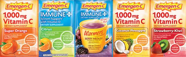 Emergen-C sample packets