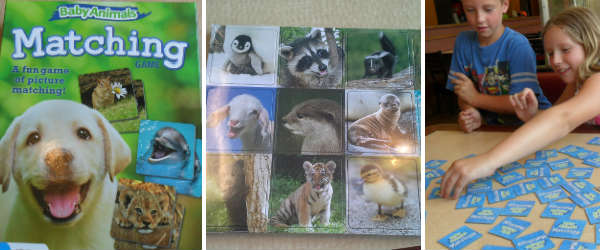 Baby Animals Matching Game by Wonder Forge