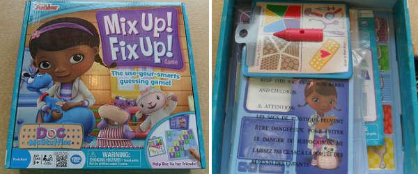 Doc McStuffins Mix Up Fix Up Game by Wonder Forge