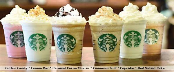 Starbucks Frappuccino Fan Flavors