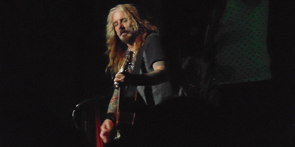 John Corabi of The Dead Daisies; photo by Michelle Snow