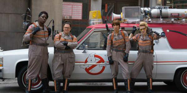 The cast of Paul Feig's Ghostbusters