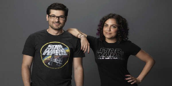 Anthony Carboni and Andi Gutierrez will host the Star Wars: The Force Awakens unboxing event.