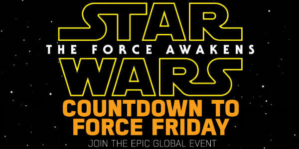 Star Wars: The Force Awakens global live toy unboxing event
