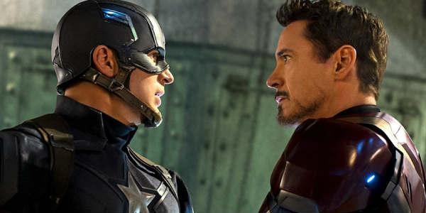 Captain America: Civil War - Cap vs Tony