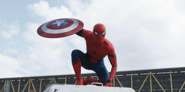 Captain America: Civil War - Spiderman