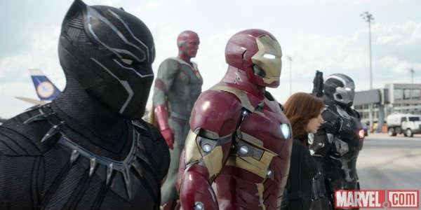 Captain America: Civil War - Team Stark