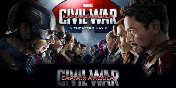 Captain America: Civil War - Team Cap vs TeamStark