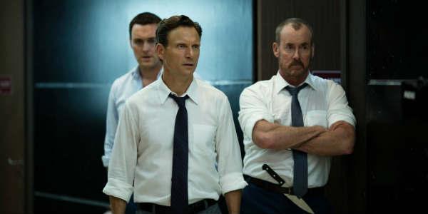Movie Review: The Belko Experiment by zengrrl.com - Owain Yeoman + Tony Goldwyn + John C. McGinley