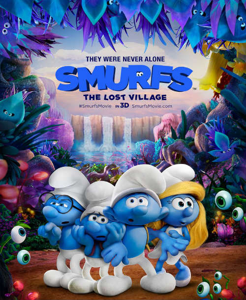 Celebrate Smurfs The Lost Villiage Movie with Zengrrl's Smurf Float Recipe
