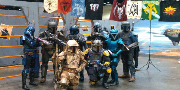 Star Wars Celebration 2017 in Orlando - Bounty Hunter Cosplay