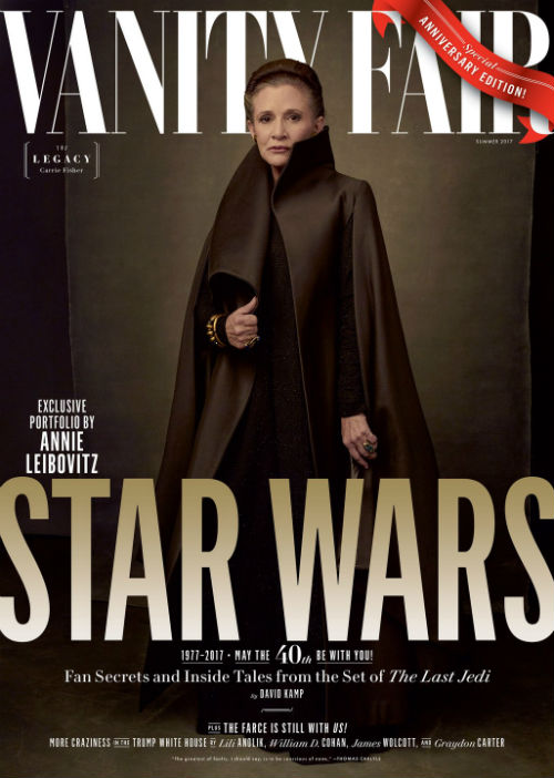 Vanity Fair Releases Four Collectors Covers of Star Wars: The Last Jedi