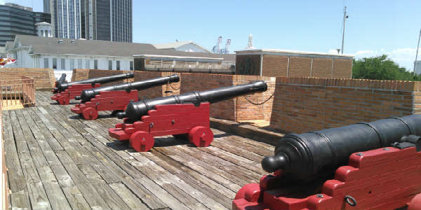 The Fort of Colonial Mobile Teaches the Colonial History of Mobile Alabama
