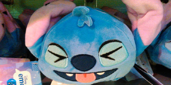 My current mood - Stitch emoji plush.
