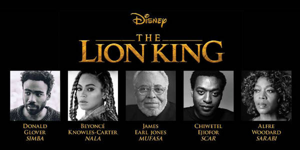Disney's The Lion King 2018 cast is revealed!
