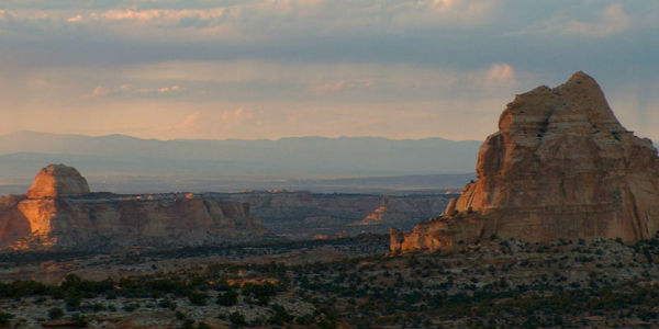 Today's Travel Thursday photo is of Ghost Rock in Utah, taken in August 2007.
