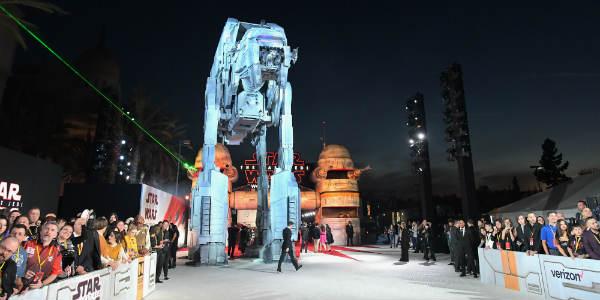 Star Wars: The Last Jedi Hosts Huge Hollywood World Premiere