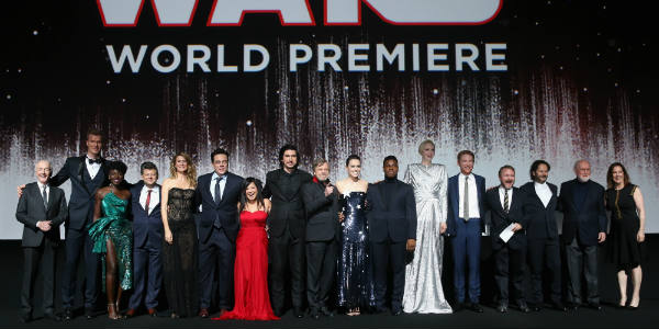 Star Wars: The Last Jedi Hosts Huge Hollywood World Premiere - photo courtesy Lucasfilm