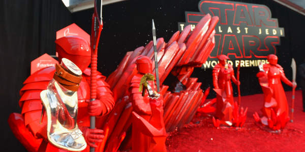 Star Wars: The Last Jedi Hosts Huge Hollywood World Premiere - phpto courtesy LucasFilm