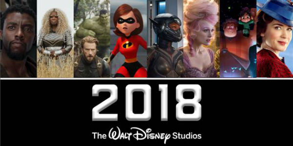 A Look at the Entire Walt Disney Studios Movie Schedule for 2018