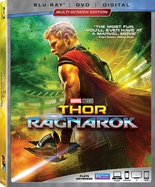 Thor: Ragnarok Thunders Into Homes on Digital Feb 20 & Blu-ray March 6