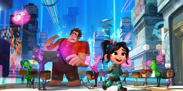 RALPH BREAKS THE INTERNET: WRECK-IT RALPH 2 (Walt Disney Animation Studios)