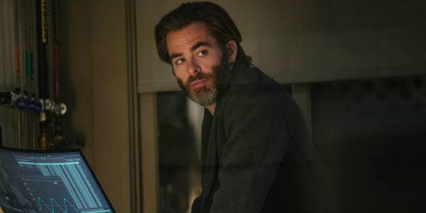 "But her father - Chris Pine - didn't just run off, he ""tessered,"" slipping into a distant part of the universe to prove a hypothesis about space, time and consciousness that he and his wife had developed together."