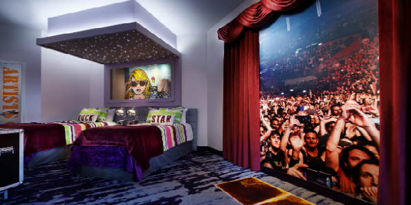 As a musician, as well as a traveler, I'm so excited about the new Future Rock Star Suites at the Hard Rock Hotel at Universal Orlando