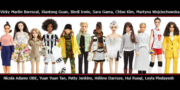 This week, to coincide with International Women's Day on March 8, Barbie is honoring 17 historical and modern-day role models from around the world.