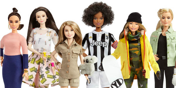This week, to coincide with International Women's Day on March 8, Barbie is honoring 17 historical and modern-day role models from around the world. Vicky Martin Berrocal, Xiaotong Guan, Bindi Irwin, Sara Gama, Chloe Kim, Martyna Wojciechowska