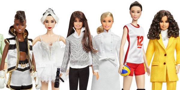 This week, to coincide with International Women's Day on March 8, Barbie is honoring 17 historical and modern-day role models from around the world. Nicola Adams, Yuan Tan, Patty Jenkins, Hélène Darroze, Hui Ruoqi, Leyla Piedayesh,