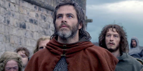 Outlaw King comes to Netflix November 9, starring Chris Pine.