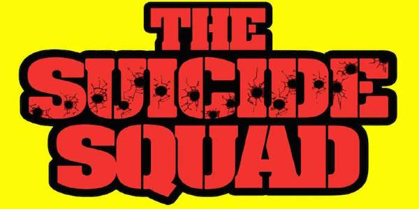 The Suicide Squad title card