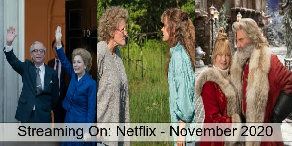 Streaming On Netflix in November 2020