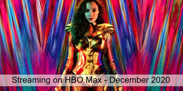Streaming on HBO Max in December 2020