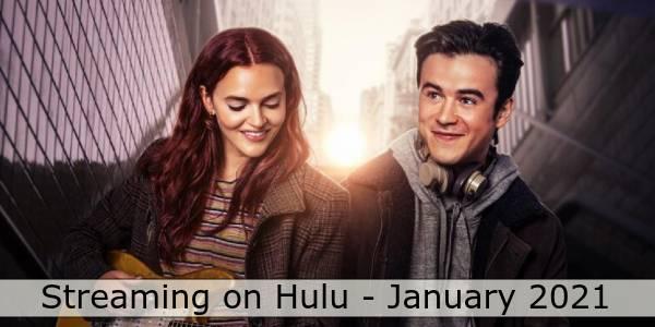 Hulu in January 2021