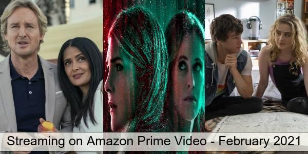 Amazon Prime Video in February 2021
