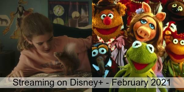Disney+ in February 2021