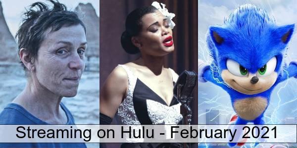 Hulu in February 2021