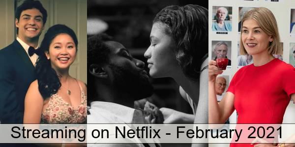 Netflix in February 2021