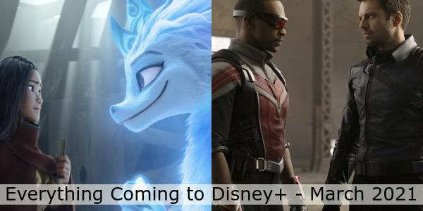 Everything Coming to Disney+ in March 2021