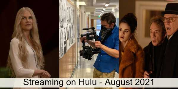 Everything Coming to Hulu in August 2021