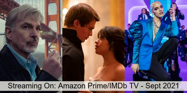 Streaming On: Amazon Prime Video and IMDb TV in September 2021