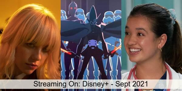 Streaming On: Disney+ in September 2021