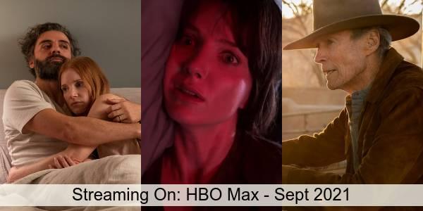 Streaming On: HBO Max in September 2021